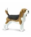 Plastic beagle hond 6 cm