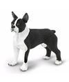 Plastic bostonterrier hond 5 cm