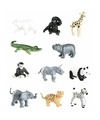 Plastic dierentuin dieren
