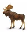 Plastic eland stier 10 cm
