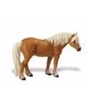 Plastic haflinger paard merrie 11 cm