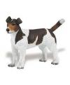 Plastic jack russell terrier hond 6 cm