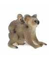 Plastic koala met baby 5 cm