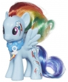 Plastic my little pony rainbow dash speelfiguur 8 cm