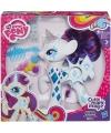 Plastic my little pony rarity speelfiguur met licht 18 cm