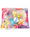 Plastic my little pony speelfiguren set geel