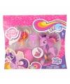 Plastic my little pony speelfiguren set roze