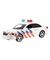 Plastic politie auto met licht en geluid 22 cm