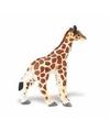 Plastic somalische giraffe kalf 7 cm