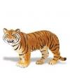 Plastic speelgoed bruine bengaalse tijgerin 14 cm