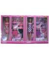 Pop lucy roze kleding set