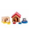 Poppenhuis huisdieren 12 dlg