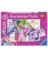 Puzzel my little pony 2 x 24 stuks