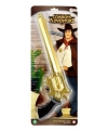 Ratelgeweer goud 43 cm