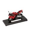 Rode honda shadow speelgoed motor 11 cm