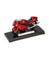 Rode suzuki shadow speelgoed motor 11 cm
