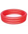 Rood mini zwembad opblaasbaar