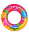 Roze opblaasbare zwemband zeedieren thema 51 cm