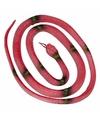 Rubberen slang rood 140 cm