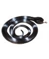 Rubberen slang zwart 90 cm