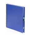 Schetsboek blauw