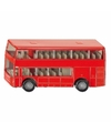 Siku dubbeldekker bus speelgoed modelauto 10 cm