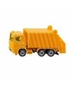 Siku vuilniswagen speelgoed modelauto 10 cm