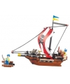 Sluban piratenschip bouwset