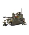 Sluban tank met 3 soldaatjes 33 x 23 7 cm