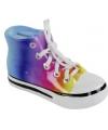 Sneaker spaarpot regenboog