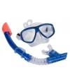 Snorkelset blauw voor volwassenen