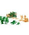Soldaten speelpoppetjes 70 stuks