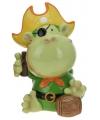 Spaarpot aap piraat groen 15 cm