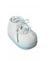 Spaarpot blauwe babyschoen