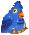 Spaarpot blauwe papegaai