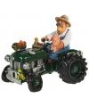 Spaarpot boer met tractor