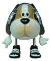 Spaarpot cartoon hond 16 cm