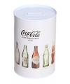 Spaarpot coca cola beige