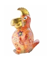 Spaarpot papegaai 22 cm oranje