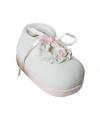 Spaarpot roze babyschoen