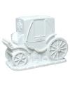 Spaarpot witte bruidskoets