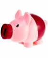Spaarvarken roze paars