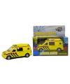 Speelgoed ambulance met geluid