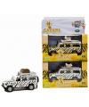 Speelgoed auto gele safari land rover 20 cm