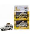 Speelgoed auto witte safari land rover 20 cm
