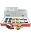 Speelgoed gele fiat 500 l auto 11 5 cm