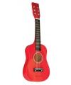 Speelgoed gitaar rood