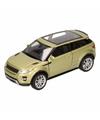 Speelgoed groene land range rover evoque auto 1 36