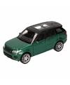 Speelgoed groene range rover sport auto 1 36