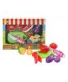 Speelgoed groente en fruit set